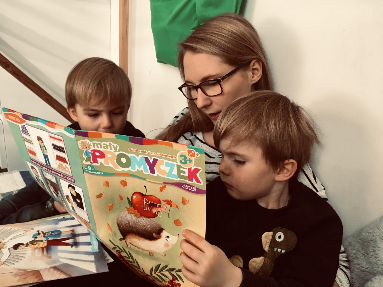 Szukamy gazetki dla dzieci